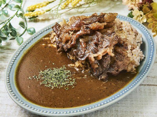 牛カルビ漬けダレ焼きと無添加クラフトカレー